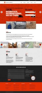 Follow the modern trends and improve your moving company's website design