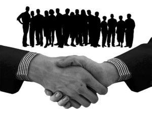 Teamwork and partnership - good relations help you stay ahead of your competition.