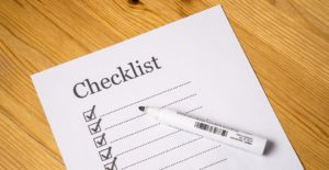 Having a checklist or list of points useful in terms of content for movers is visually enticing.