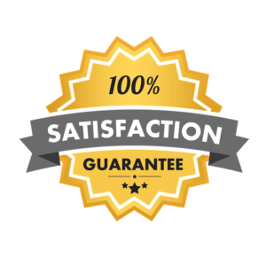 True SEO experts know better than to give a 100% satisfaction guarantee.