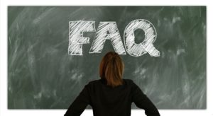 "Put FAQ on the blackboard as a ""must-have"" page for your website."