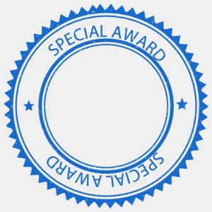 Award badge, something to be earned and recognized when you manage a growing team.