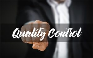 Quality Control & software testing - one can't work without the other.