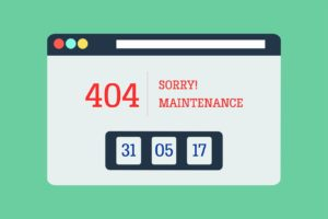 404 error message - keep users guessing to improve your website security.