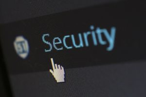 Security options in WordPress.