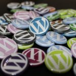 The many WordPress blog components - like small badges that you need to match perfectly.