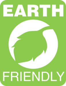 Earth-friendly logo - positive social presence techniques 101