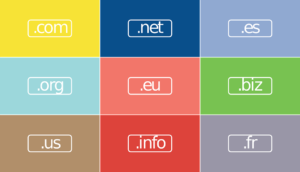Different types of domains.