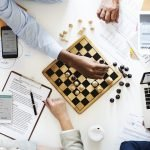 Choosing a website domain name for your business is like a game of chess - you need to plan it out.