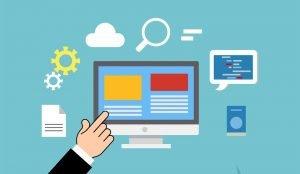 Different web design elements
