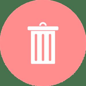a dustbin