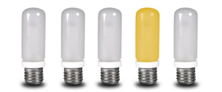 Singular vs plural - light bulbs