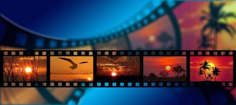 Film slides.
