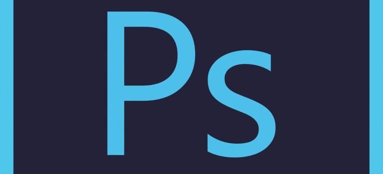 A Photoshop logo.