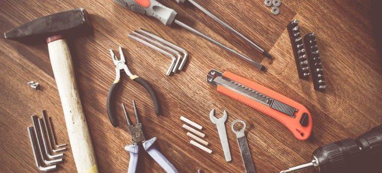 Various tools.