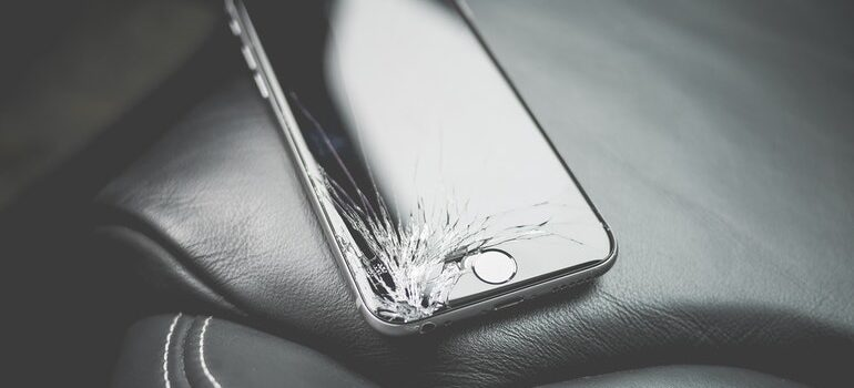 iPhone broken because ways in which movers can protect customers werent implemented.