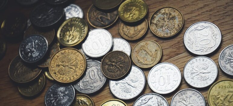 Coins collected through Business advertising through crowdfunding.