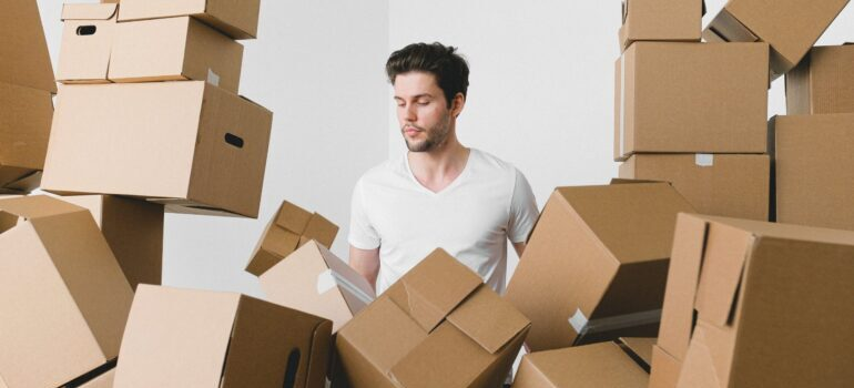 a man who has not done in-home moving estimates