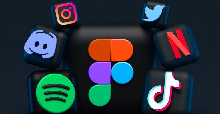Social media and app icons